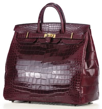 Best Quality Hermes Crocodile HAC Replica Bag