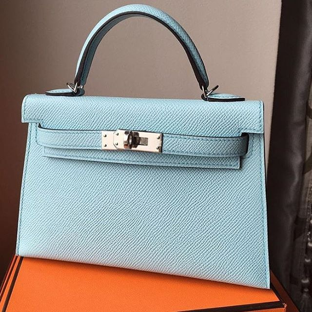 28cb7a5b6a93 Discount Hermes Kelly 20 Bag Genuine Leather Replica - Quality AAA+ ...