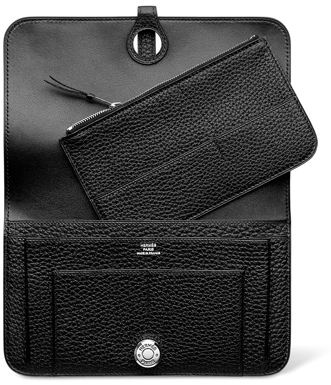 Hermes-Dogon-Wallet-Interior